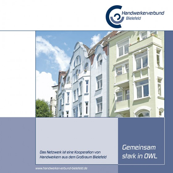 Titel Prospekt Handwerkerverbund Bielefeld